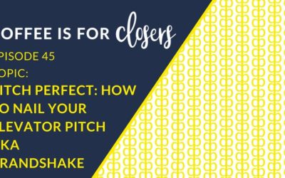 Episode 45 Live Show: How to Nail Your Elevator Pitch
