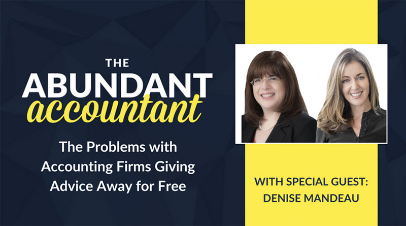 The Problems with Accounting Firms Giving Advice Away for Free | Episode 1